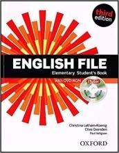 کتاب آموزشی انگلیش فایل المنتری ویرایش سوم English File Elementary Student Book 3rd