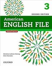 کتاب American English File 3 2nd SB+WB+DVD