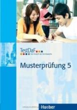 کتاب تست داف ماستر پروفونگ TestDaF Musterprüfung 5 MIT Audio-CD