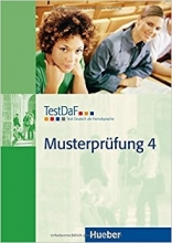 کتاب تست داف ماستر پروفونگ TestDaF Musterprüfung 4 MIT Audio-CD