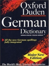 کتاب The Oxford Duden German Dictionary