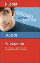 کتاب المانی Verbtabellen Deutsch: Die wichtigsten regelmäßigen und unregelmäßigen Verben im Überblick