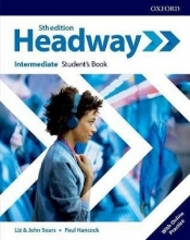 كتاب هدوی اینترمدیت ویرایش پنجم  Headway Intermediate 5th edition st + wb + DVD