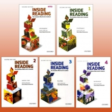 مجموعه پنج جلدی New Inside Reading with cd 2edition