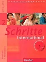کتاب آلمانی شریته اینترنشنال قدیمی Schritte International 2