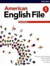 کتاب امریکن انگلیش فایل 1 ويرايش سوم  American English File 1 3rd Edition