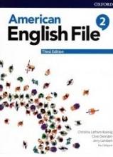 کتاب امریکن انگلیش فایل 2 ويرايش سوم American English File 2 3rd Edition