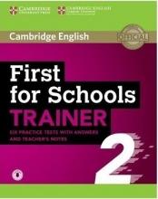 کتاب Cambridge English First for Schools Trainer 6 Practice Tests 2-CD