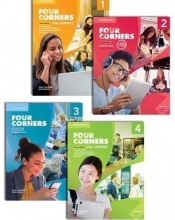 مجموعه 4 جلدي فور كورنرز ويرايش دوم Four Corners Second Edition