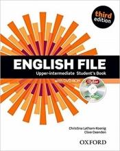 کتاب آموزشی انگلیش فایل آپر اینرمدیت ویرایش سوم English File Upper-intermediate 3rd Edition