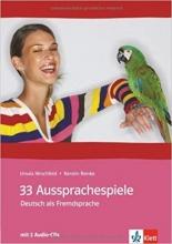 کتاب آلمانی 33Aussprachespiele Deusch als Fremdsprache