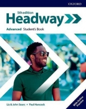 كتاب Headway Advanced 5th edition st + wb + DVD