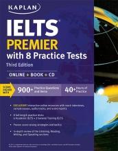 کتاب کاپلن آیلتس پریمیر ویرایش سوم Kaplan IELTS Premier with 8 Practice Tests 3rd+CD