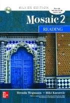 کتاب  Mosaic 2 READING Silver Editions