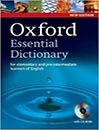 دیکشنری Oxford Essential Dictionary with cd new edition