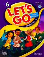 کتاب Lets Go 6 Student Book 4th وزيري