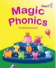کتاب Magic Phonics Step 3 With Audio CD