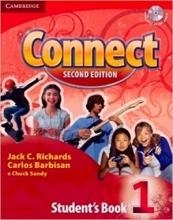 کتاب آموزشی کانکت 1 ویرایش دوم Connect 2nd 1 SB+WB+CD