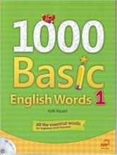 کتاب  1000Basic English Words 1 + CD