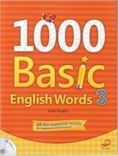 کتاب  1000Basic English Words 3 + CD