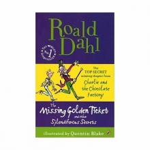 کتاب داستان انگلیسی رولد دال بلیط طلایی گمشده Roald Dahl The Missing Golden Ticket and Other Splendiferous Secrets