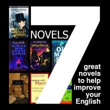 مجموعه 7 جلدي تقویت زبان انگلیسی از طریق رمان (Novels)