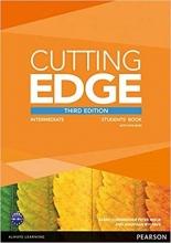 کتاب آموزشی کاتینگ ادج اینترمدیت ویرایش سوم Cutting Edge Intermediate  3rd SB+WB+CD