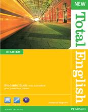 کتاب آموزشی نیو توتال انگلیش استارتر New Total English Starter