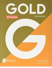 Gold B1+Pre First New Edition Coursebook +EXAM MAXIMISER+CD کتاب گلد پری فرست جدید