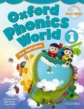 کتاب آکسفورد فونیکس ورد Oxford Phonics World 1 SB+WB+CD