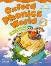 کتاب آکسفورد فونیکس ورد Oxford Phonics World 2 SB+WB+DVD