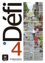 کتاب  Defi 4 - B2 – Livre de l'élève + Cahier d'exercices + CD