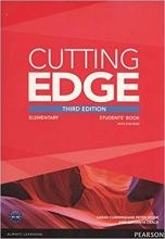 کتاب آموزشی کاتینگ ادج المنتری Cutting Edge Elementary 3rd SB+WB+CD