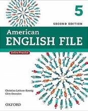 کتاب American English File 5 2nd SB+WB+DVD