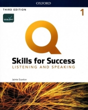 كتاب Q Skills for Success 1 Listening & Speaking (3rd)+DVD