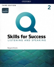 كتاب Q Skills for Success 2 Listening & Speaking (3rd)+DVD