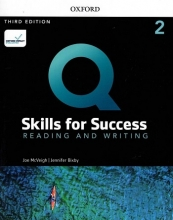 کتاب Q Skills for Success 2 Reading & Writing (3rd)+DVD