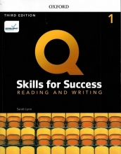 کتاب Q Skills for Success 1 Reading & Writing (3rd)+DVD