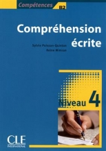 کتاب Comprehension ecrite 4 - Niveau b2