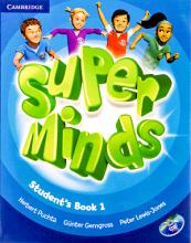 کتاب Super Minds 1 SB+WB+CD