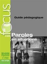 کتاب focus paroles en situation guide