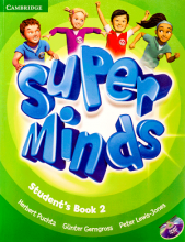 کتاب Super Minds 2 SB+WB+CD