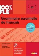کتاب گرامر ضروری فرانسه Grammaire essentielle du français niv. B2 - Livre + CD 100% FLE