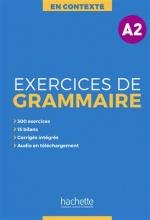 کتاب En Contexte - Exercices de grammaire A2 + CD + corrigés