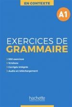 کتاب En Contexte - Exercices de grammaire A1 + CD + corrigés