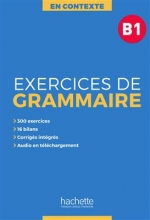 کتاب En Contexte : Exercices de grammaire B1 + CD + corrigés