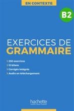 کتاب En Contexte : Exercices de grammaire B2 + CD + corrigés