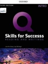 كتاب Q Skills for Success Intro Reading and Writing 3rd +DVD