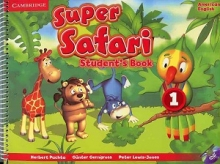 کتاب  American Super Safari 1 SB+WB+CD