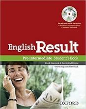 کتاب آموزشی انگلیش ریزالت پری اینترمدیت English Result Pre-intermediate Student Book